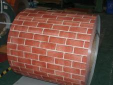 Prepainted PPGI Coil with Brick Print